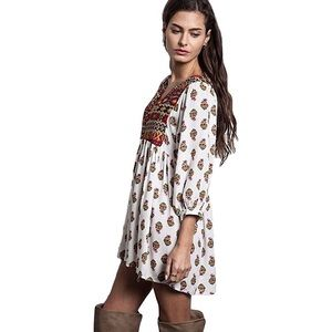 Umgee boho Aztec printed tunic dress